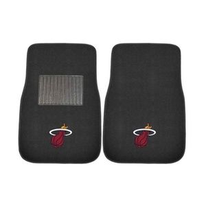 NBA Miami Heat Embroidered Car Mats (2-Pack)